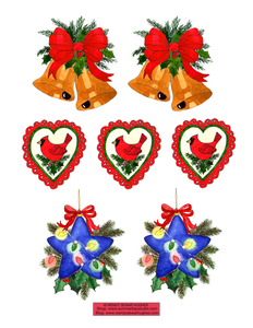 Jolly Christmas Printable Sticker Collection C