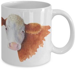 Bella the Heifer 11 oz. Coffee Mug
