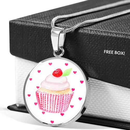 Hey Cupcake Cherry Top Necklace