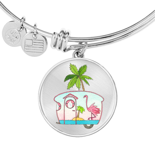 RV Happy Flamingo Beach Bracelet