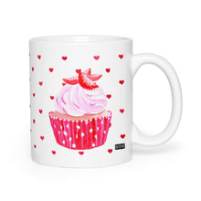 Hey Cupcake Strawberry Heart Coffee Mug
