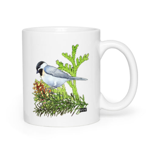Bird Songs Chickadee Coffee Mug