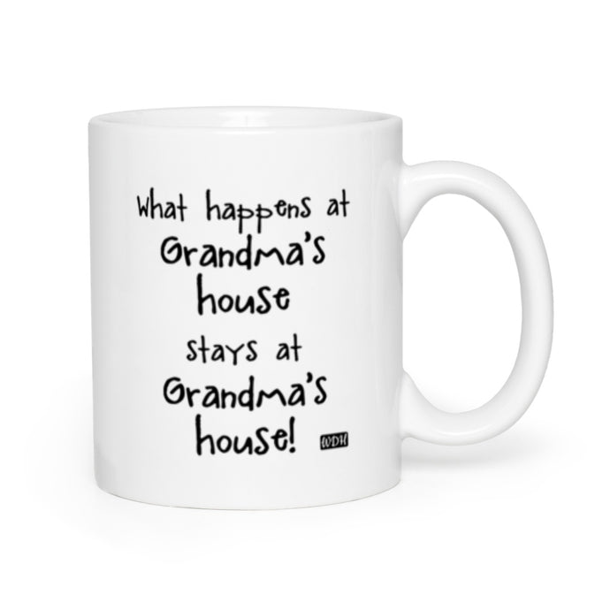 Family Days Coffee Mug - What Happens at Grandma's House
