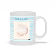 Sea Dreams Coffee Mug - Scallop