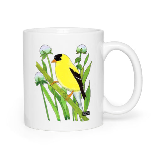Bird Songs Goldfinch Coffee Mug