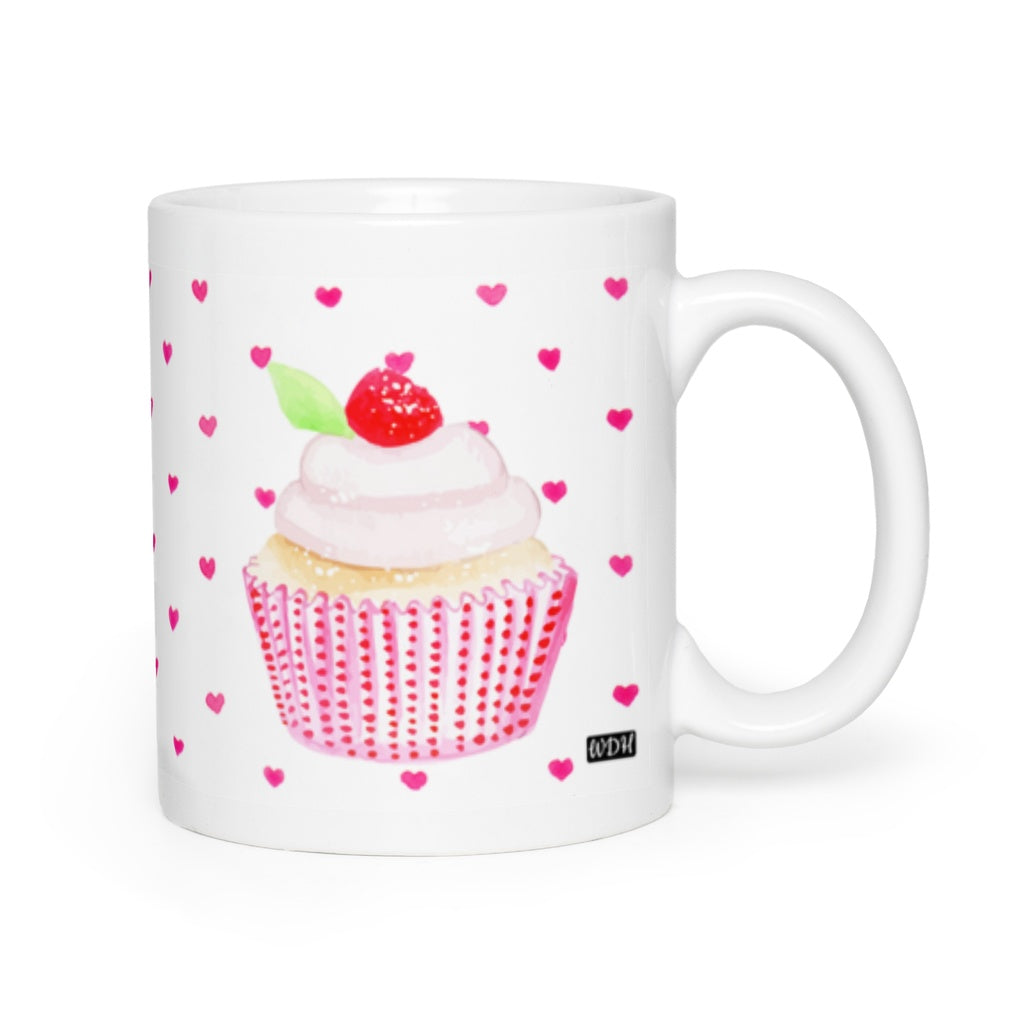 Hey Cupcake Cherry Top Coffee Mug