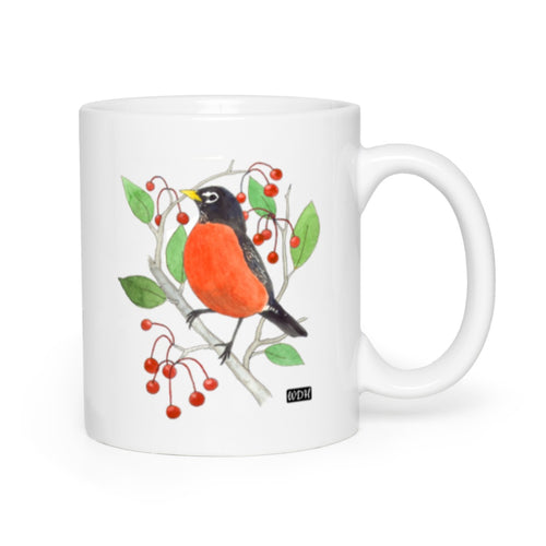 Bird Songs Robin Coffee Mug