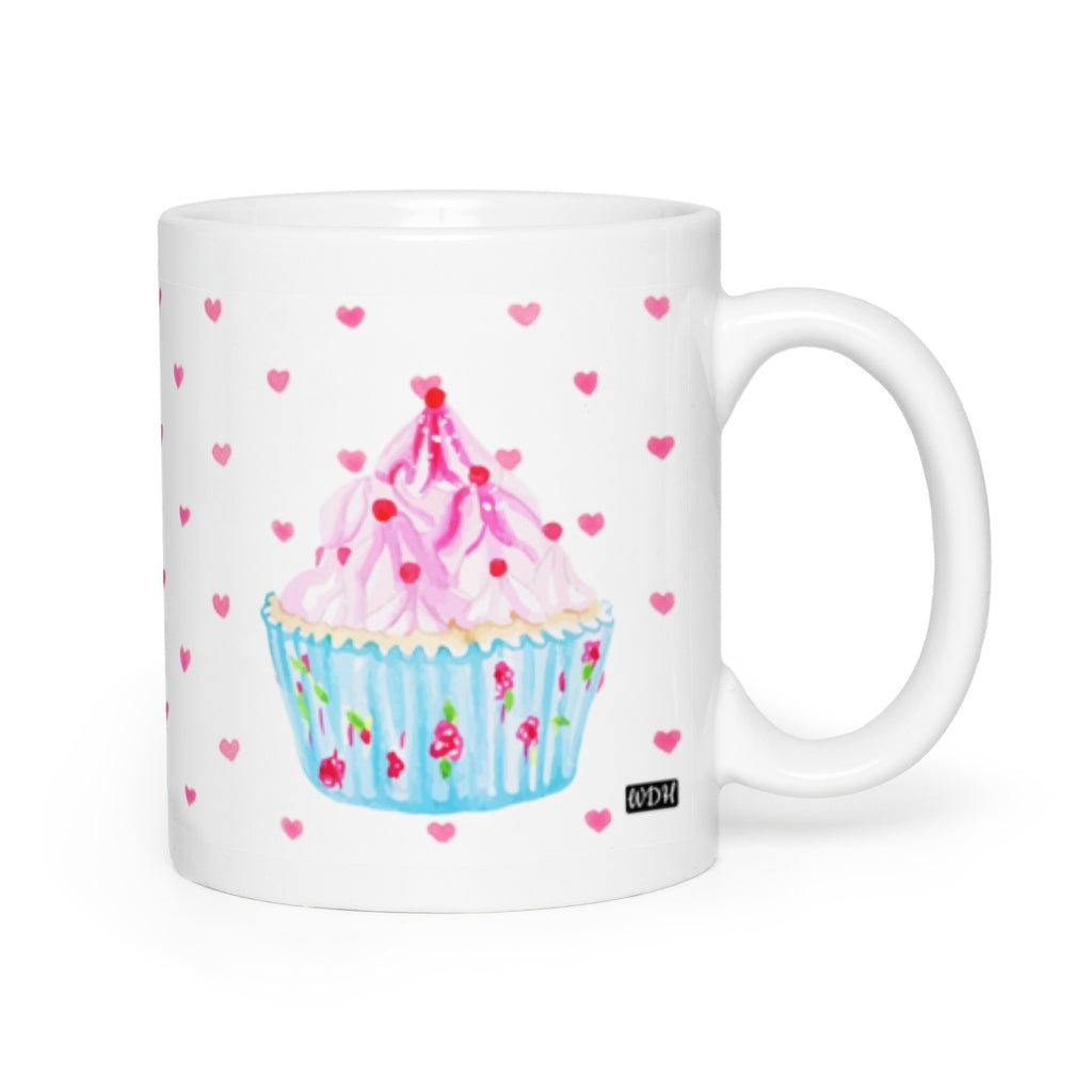 Hey Cupcake Frosty Sprinkles Coffee Mug