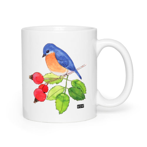 Bird Songs Bluebird Coffee Mug
