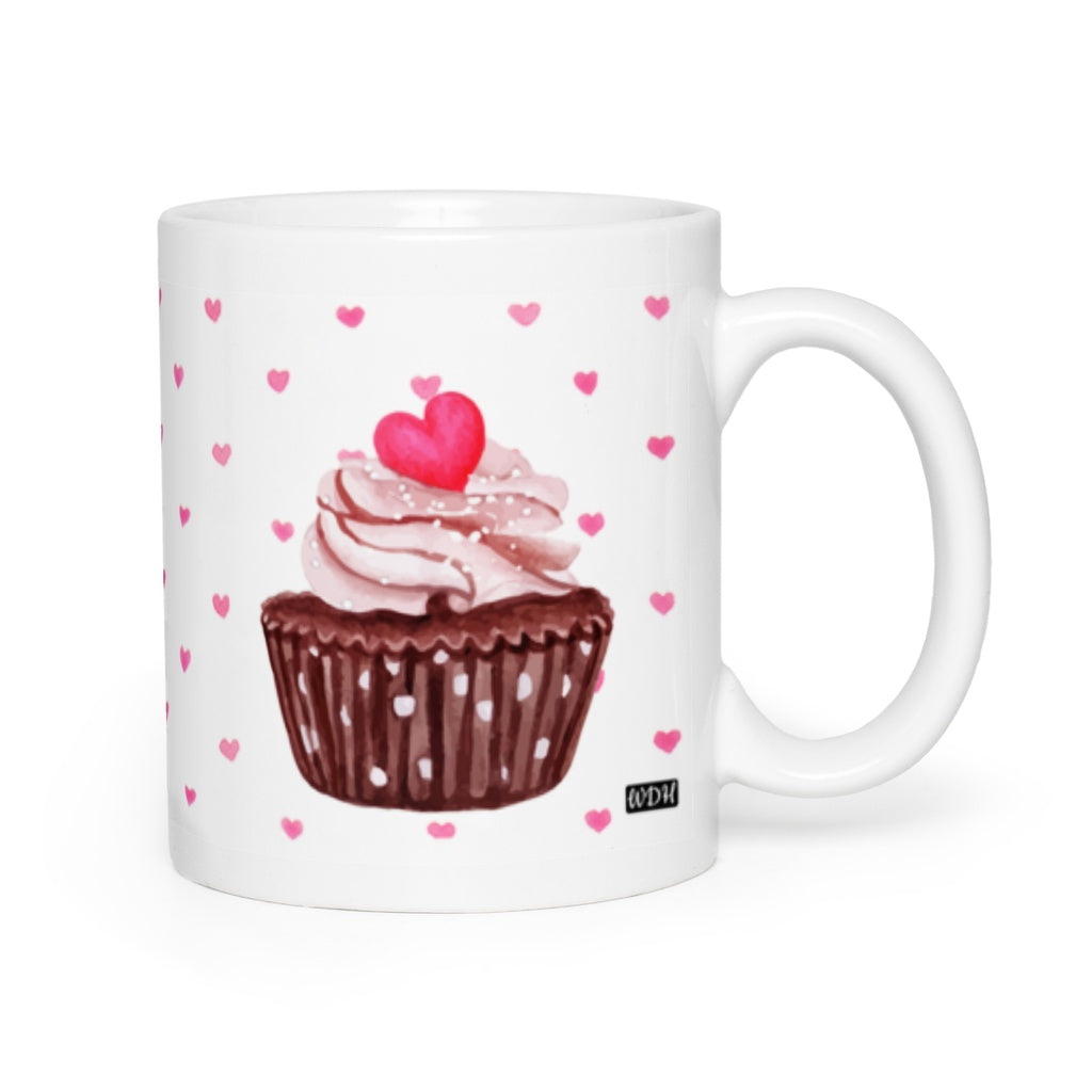 Hey Cupcake Chocolate Kiss Coffee Mug