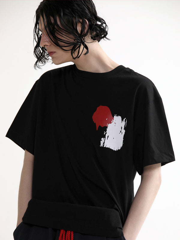 Brush 1/2 Tee Shirt