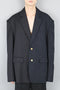 Royal Layor Back Zip Double Face Blazer