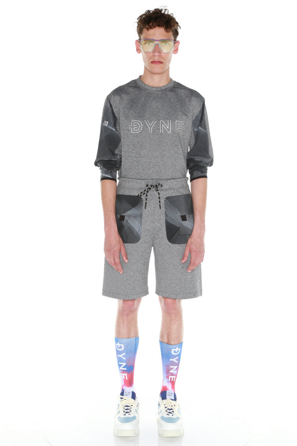 RENZO CREW - HEATHER CHARCOAL