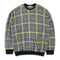 WE:ED Tartan with Neon Yellow Line Knitwear