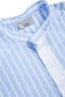 Navy Studio Light Blue with White Stripe Shirt