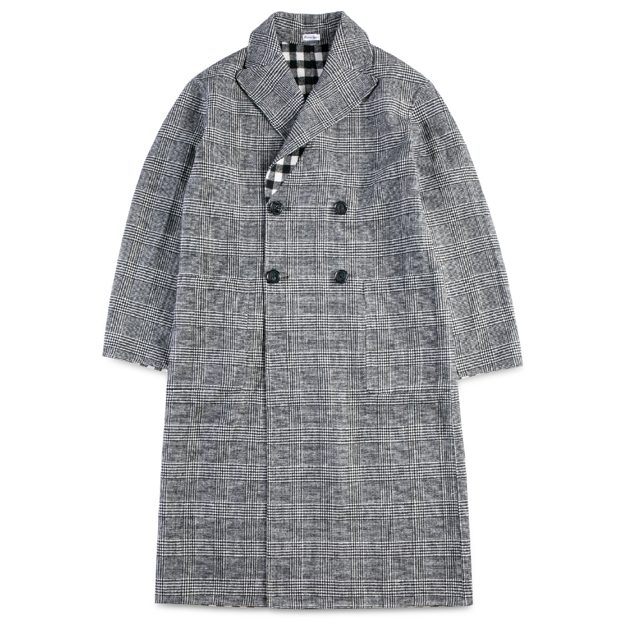 Reversible Checker Coat