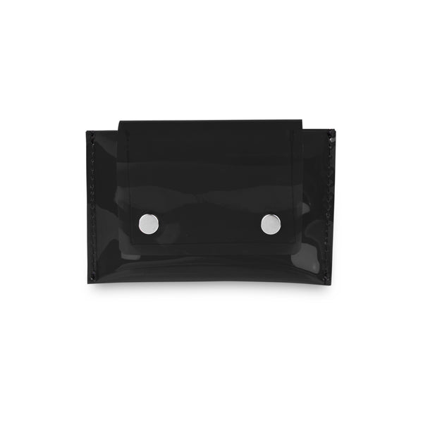 Geono PVC Card Holder, Black