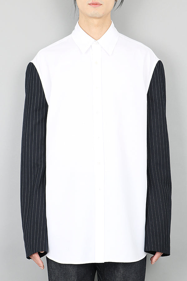 Royal Layor Blazer Sleeve Shirt