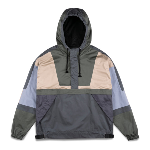 New Studio Half-Zip Hooded Windbreaker