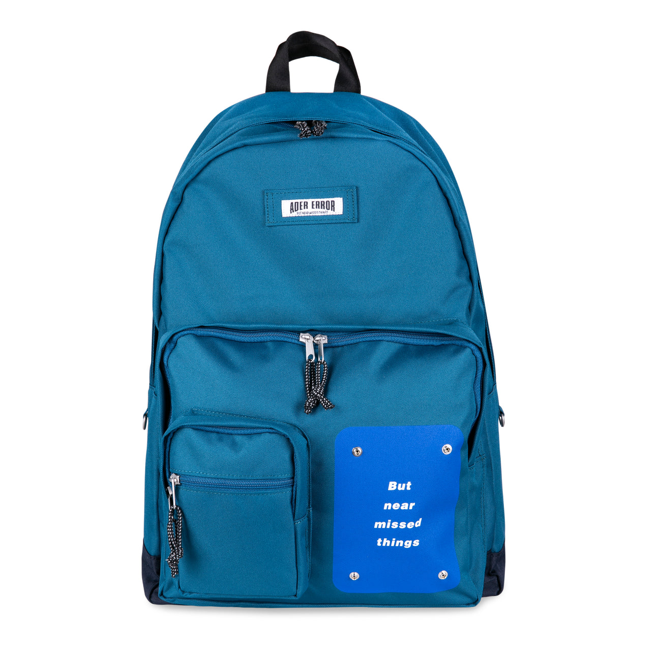Adererror Pouch Backpack - Turquoise Blue