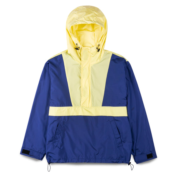 Coin Garments Half-Zip Hooded Windbreaker