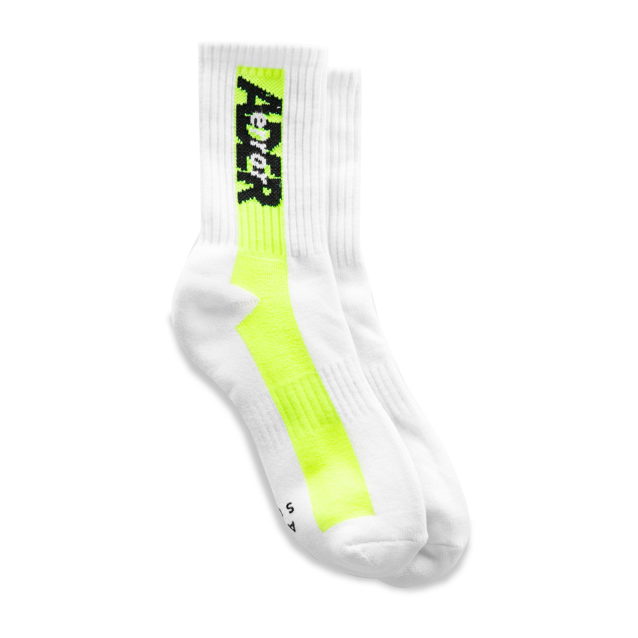 Adererror Line Color Socks - Yellow