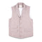 Jianfute Light Brown Vest with White Strip