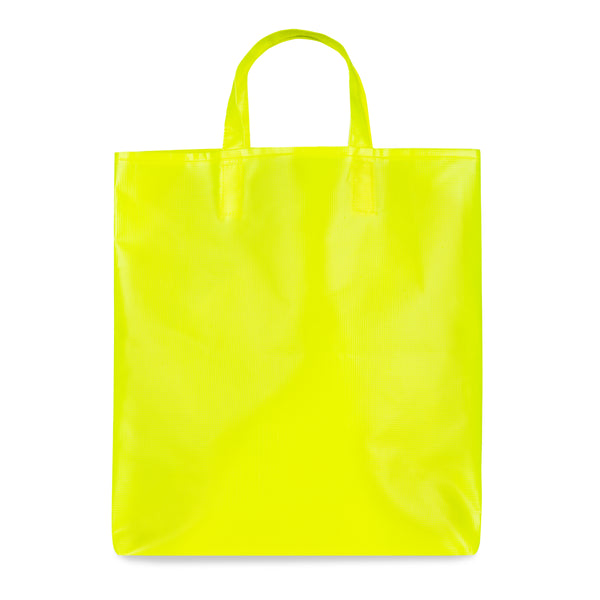 Chalk PVC Tote Bag - Neon Yellow