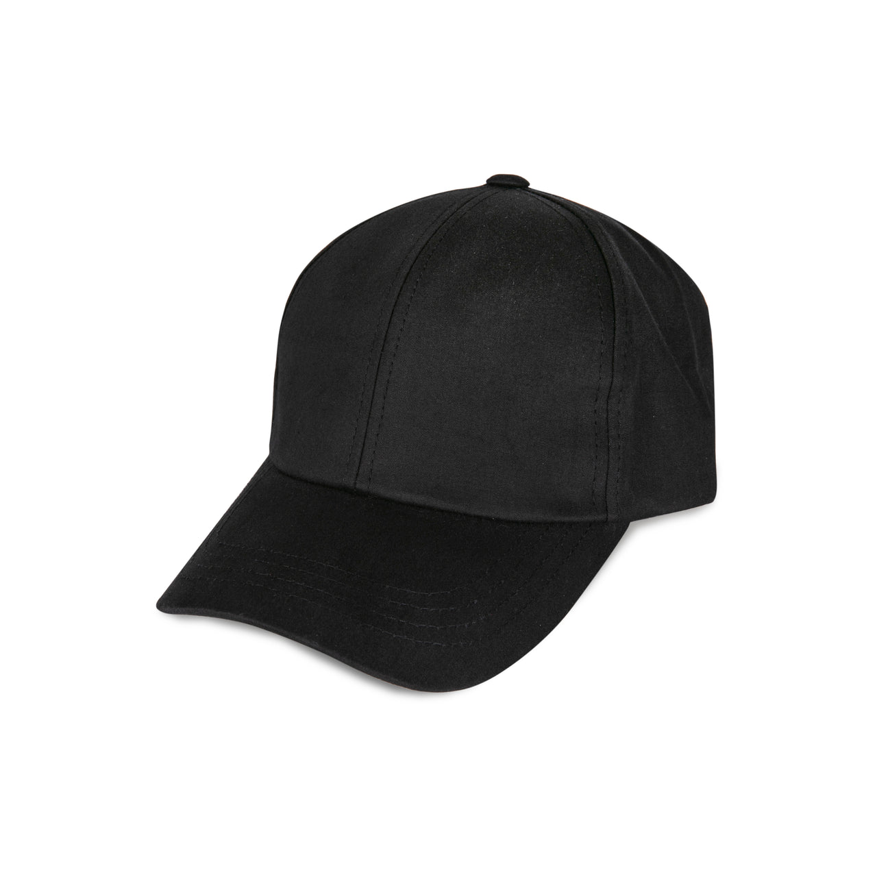 "Black Cap with a ""Y"" Logo on Strip"