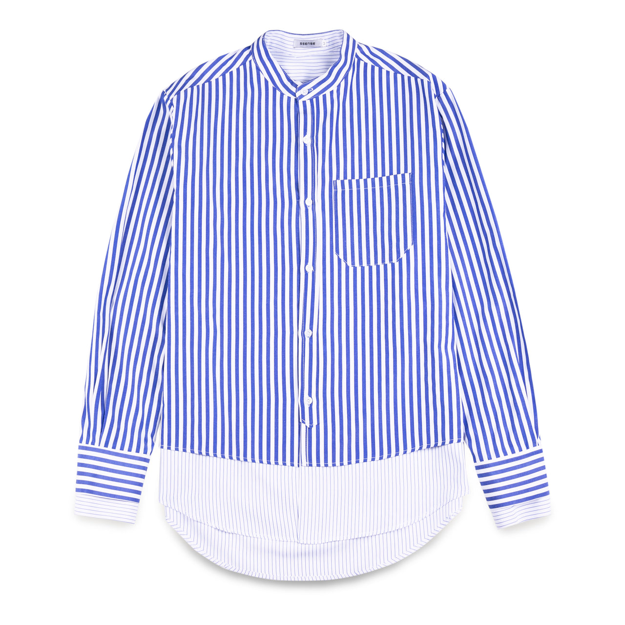 Ssense Layer Striped Shirt