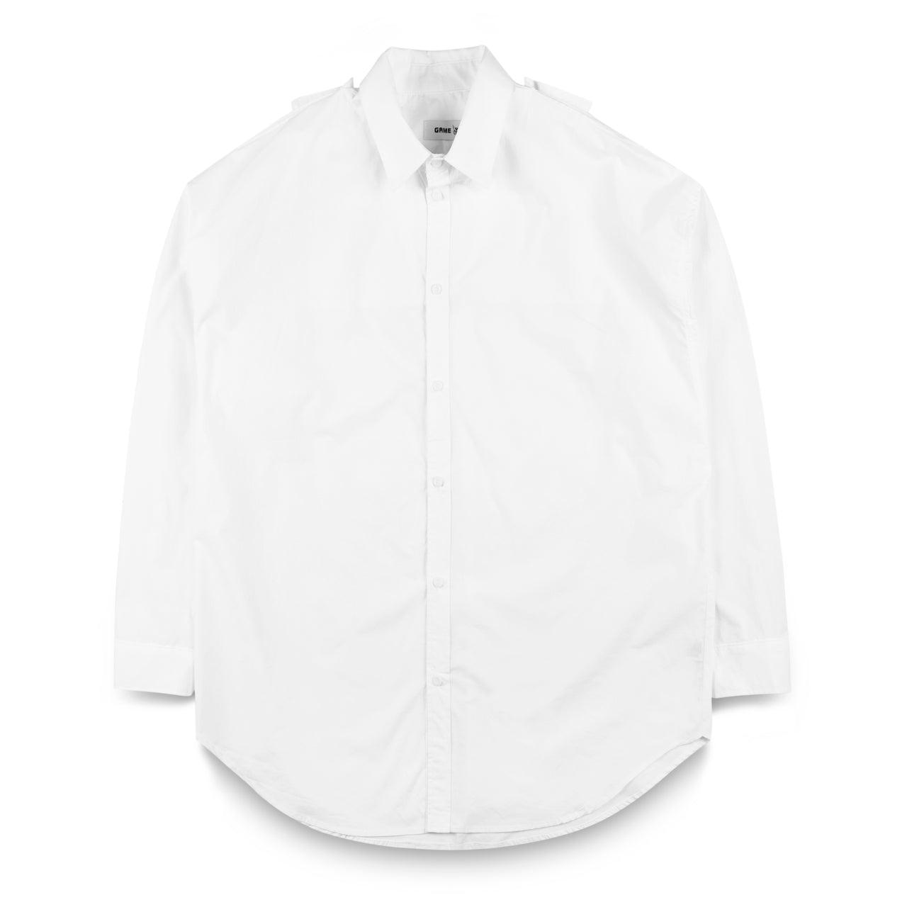 GAME Long Shirt with Double Collars Detail