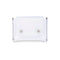 Geono PVC Card Holder, White