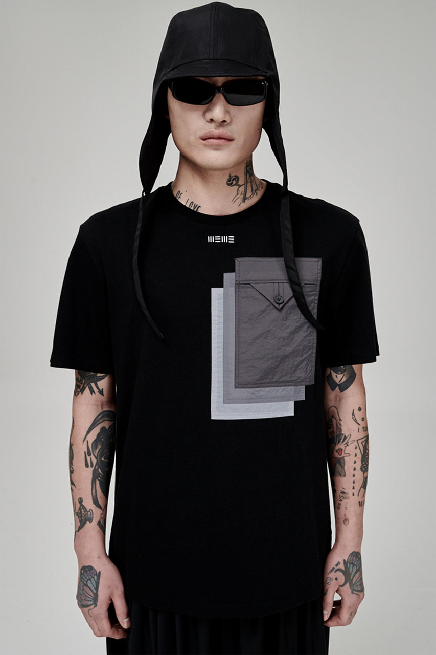 Triple Pockets Tee Shirt