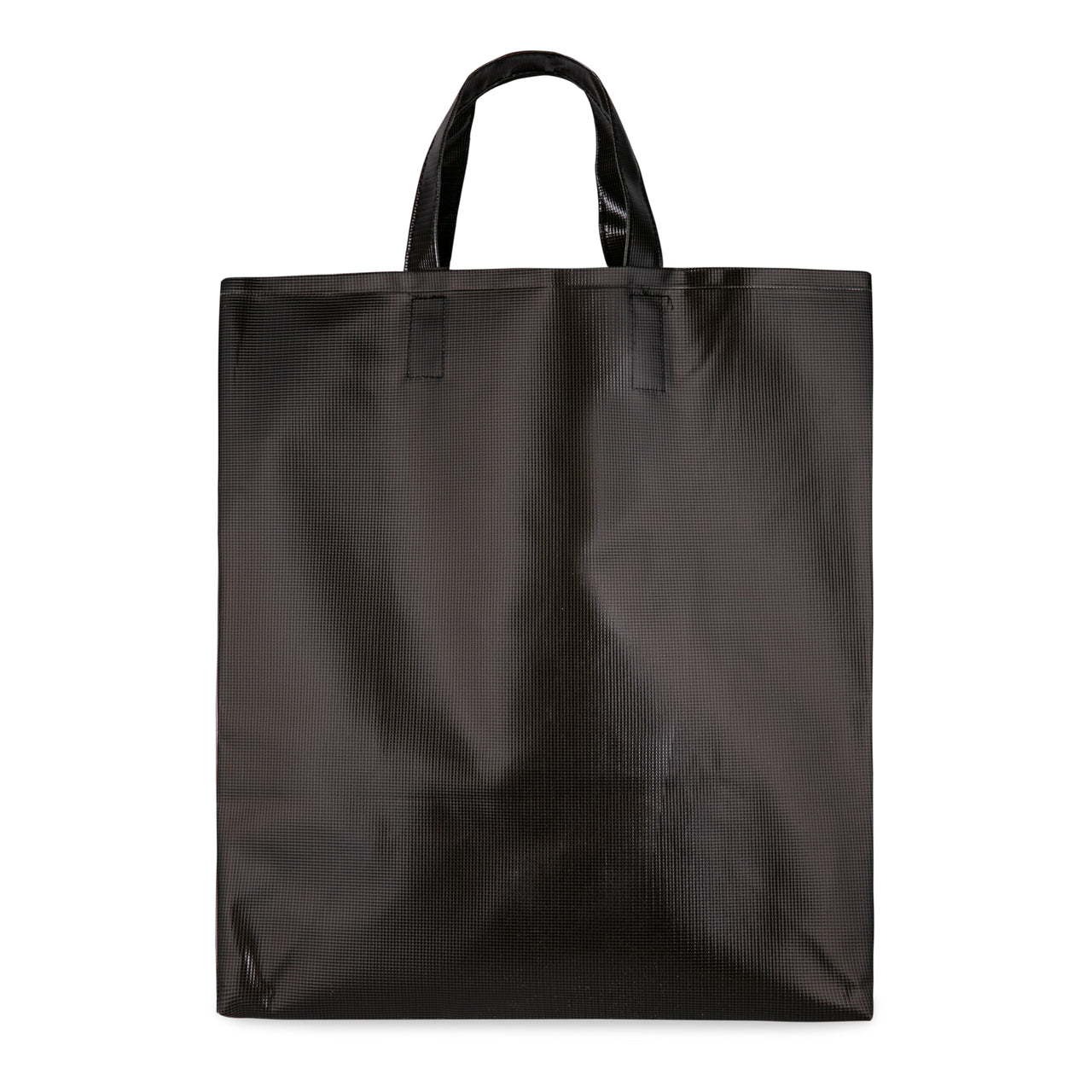 Chalk PVC Tote Bag - Black