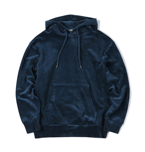 VELOUR SWEAT PARKAξ