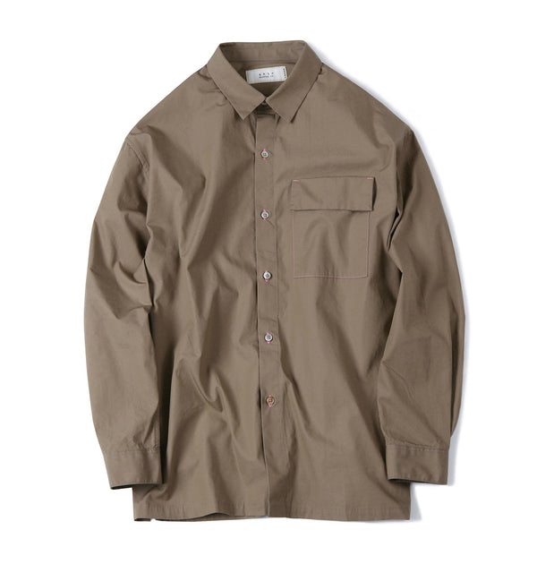 FISHING LINE POPLIN SHIRT