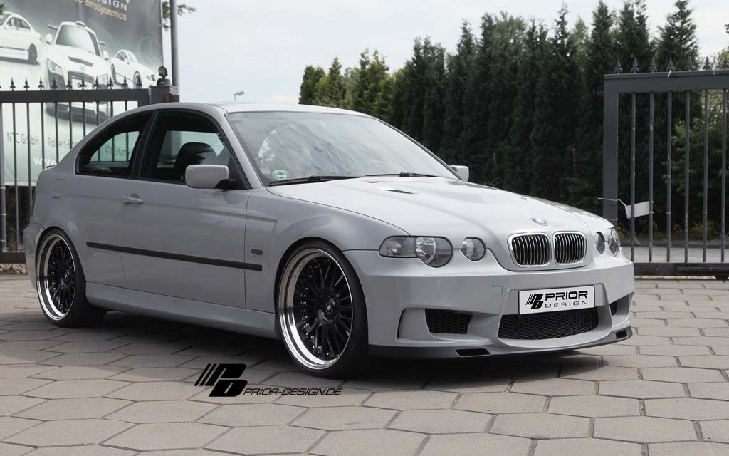 Bmw Series 3 E46 Compact Limousine Coupe Aero Kit Prior Design