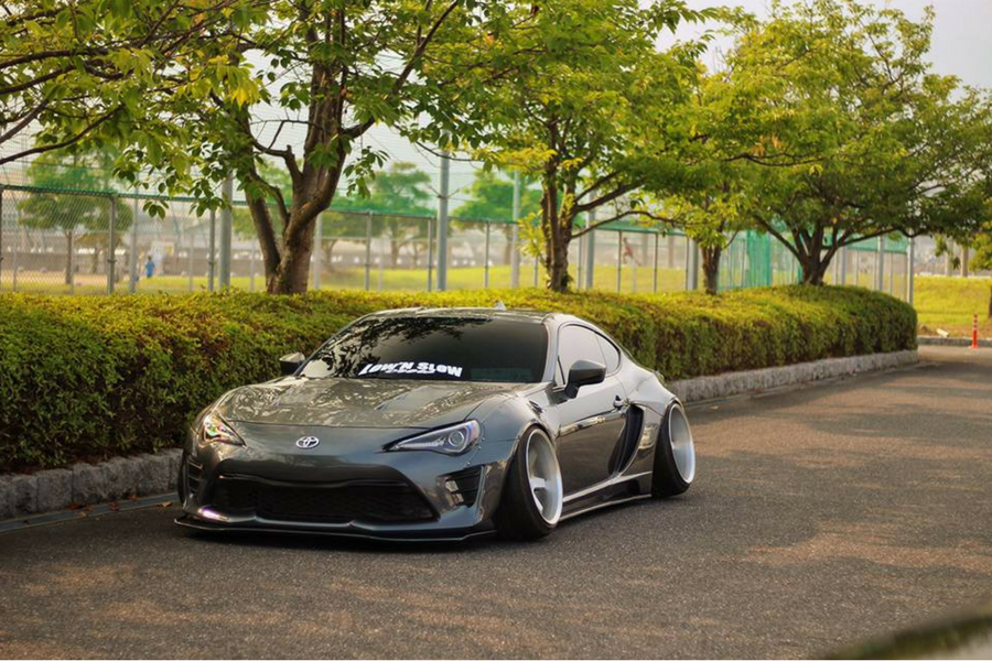 TOYOTA GT-86 VERSION 2 WIDE BODY KIT (RALLY BACKER)