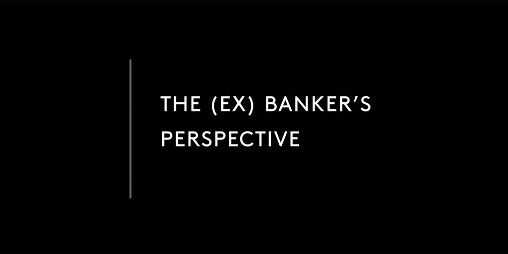 The (ex) banker's perspective: How do you make a cashless