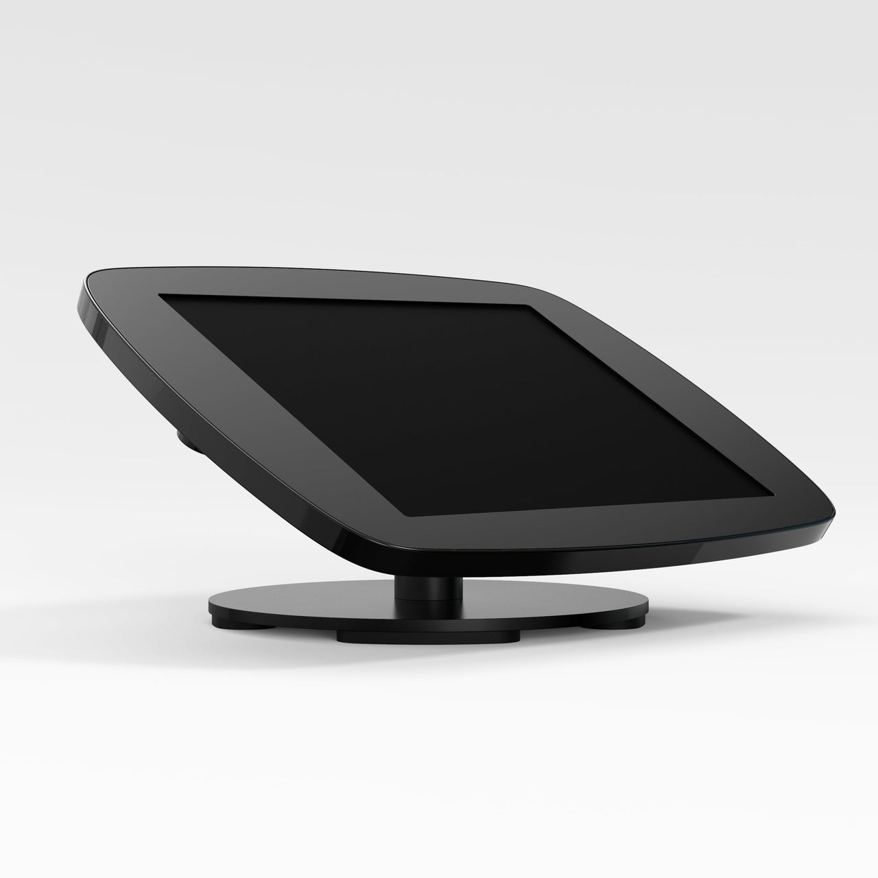 Bouncepad Counter - A secure tablet & iPad tablet stand in Black.