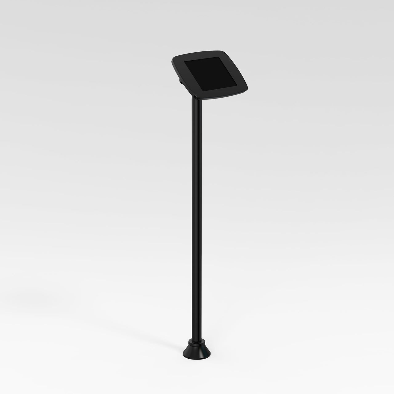 Bouncepad Floorstanding Slim - A secure tablet & iPad floor stand in black