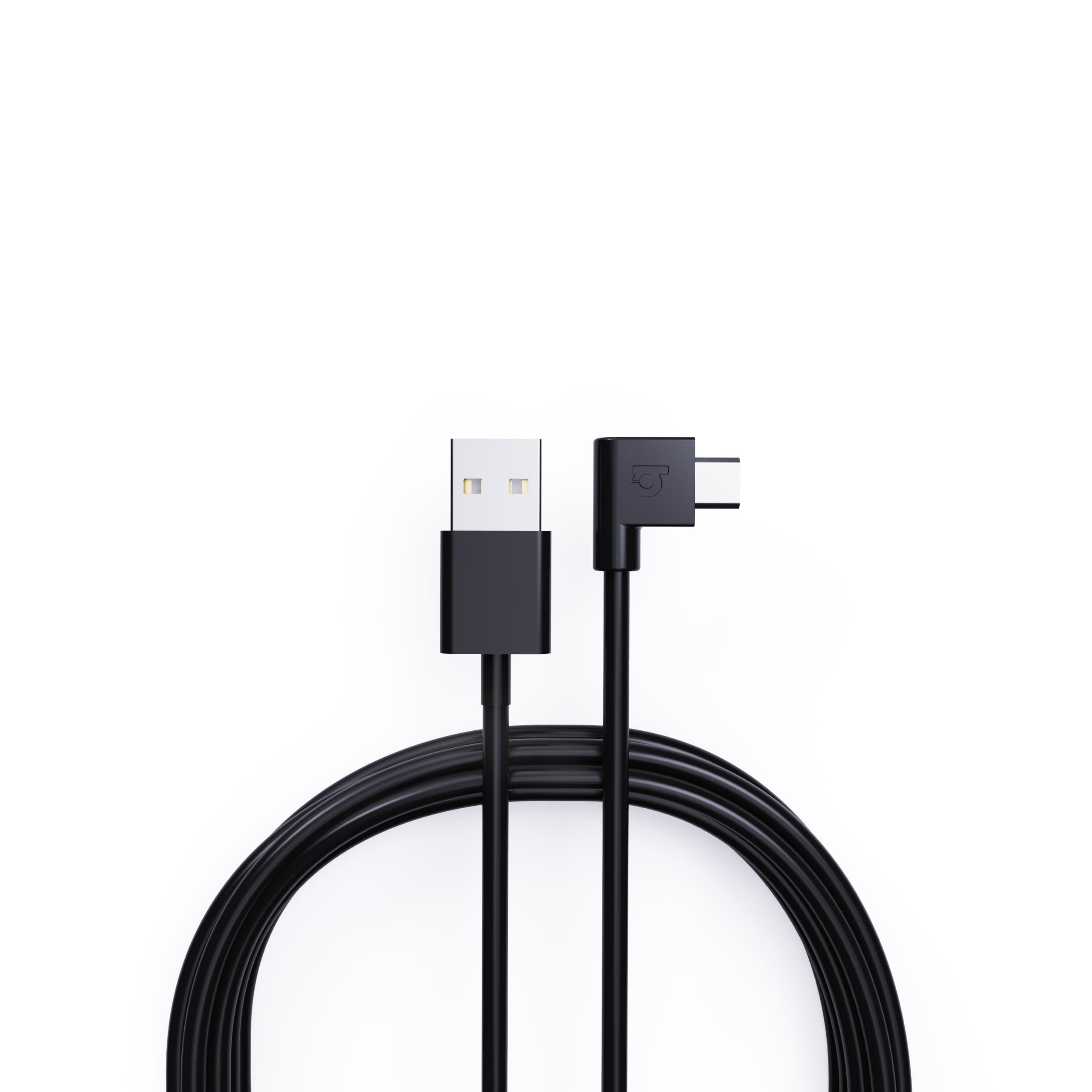 Right-Angled Micro-USB to USB-A 2 metre Sync and Charge Cable