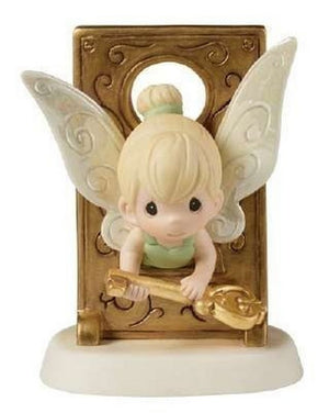 Disney Tinker Bell Figurine, You Hold The Key To My Heart