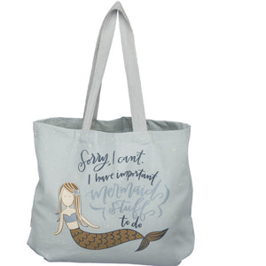 Tote - I Have Important Mermaid Stuff To Do