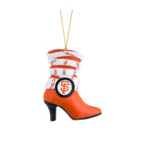 MLB San Francisco Giants Team Boot Ornament
