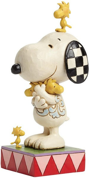 Jim Shore for Enesco Peanuts Snoopy Woodstock and Friends Figurine