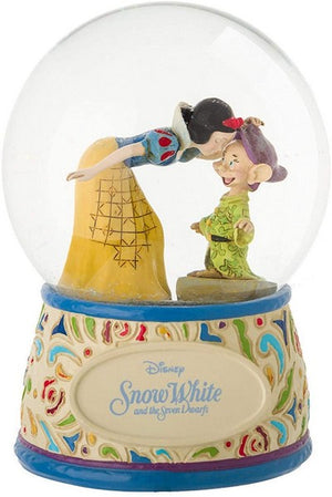 Jim Shore Snow White and Dopey Waterball