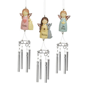 Miniature Angel Wind Chime Assorted