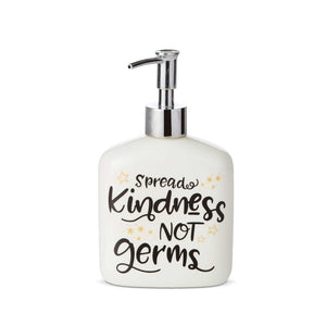 Our Name Is Mud Spread Kindness Soap Dispenser