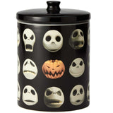 Disney The Nightmare Before Christmas Jack Skellington Cookie Treat Jar Canister